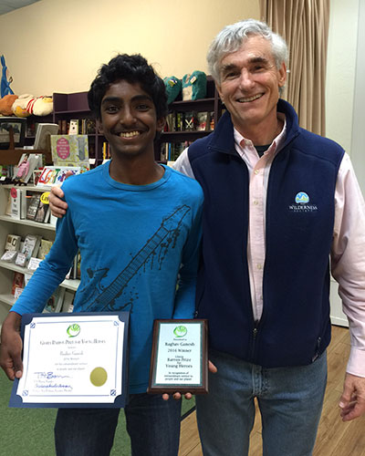 Here I am with 2016 winner Raghav at The Reading Bug in CA.