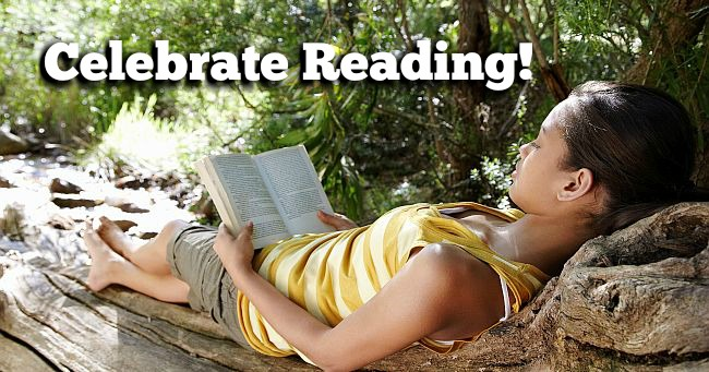 Celebrate Books & Reading with #GetCaughtReading month