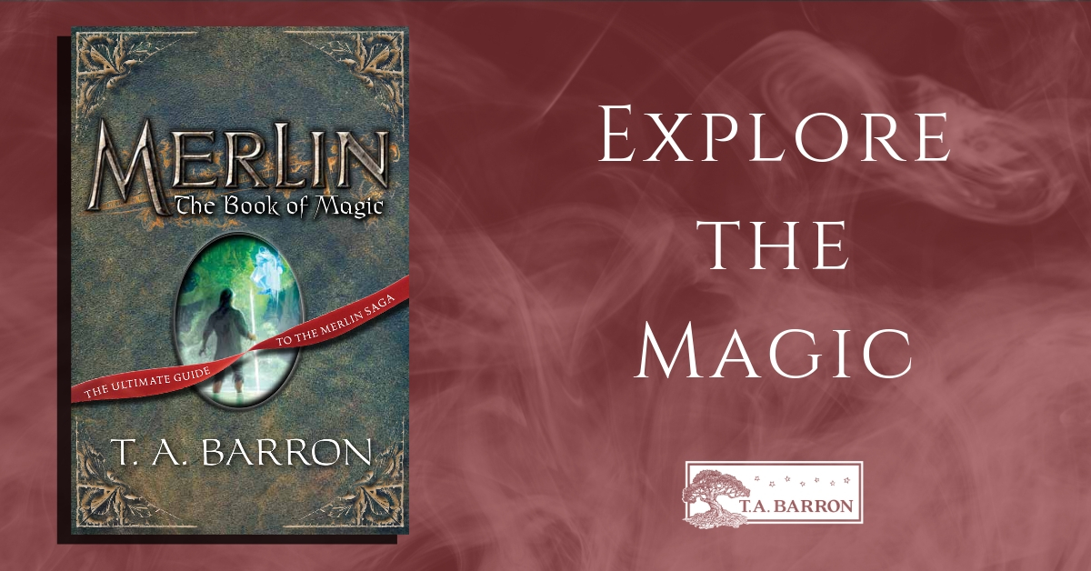 Merlin Book 12: The Book of Magic | TABarron com