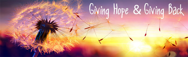 Giving Hope and Giving Back
