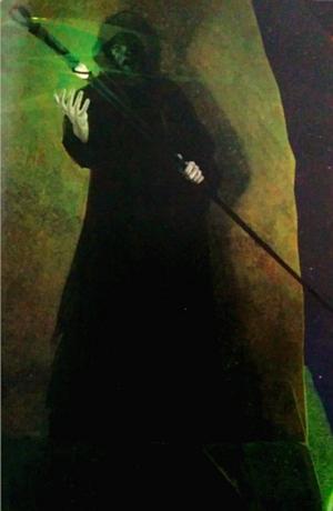 Kulwych as he appears in 'The Book of Magic' (Merlin Saga, Book 12)