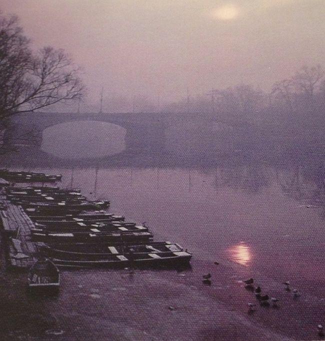 1973 Beautiful Neva River in Budapest