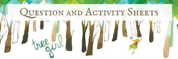 Tree Girl Activity Sheets